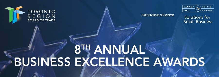 8th Annual Business Excellence Awards  – Toronto Region Board of Trade Logo
